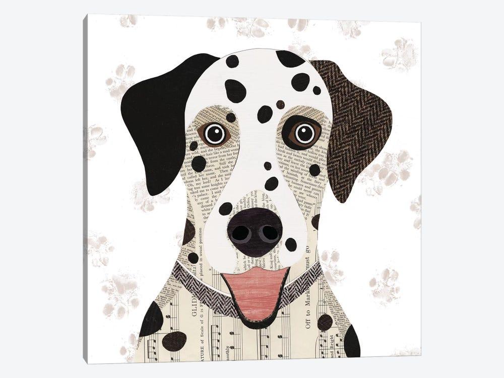 Dalmatian by Simon Hart 1-piece Canvas Wall Art