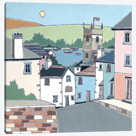 Above Dartmouth Canvas Print #SIH6} by Simon Hart Canvas Artwork