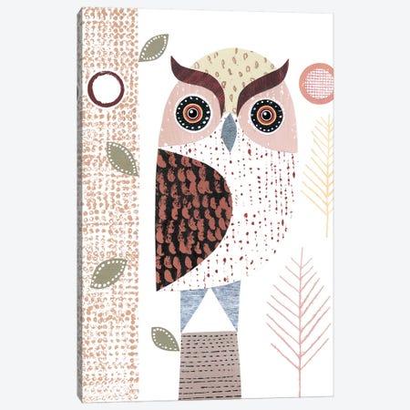 Eagle Owl Canvas Print #SIH71} by Simon Hart Canvas Artwork
