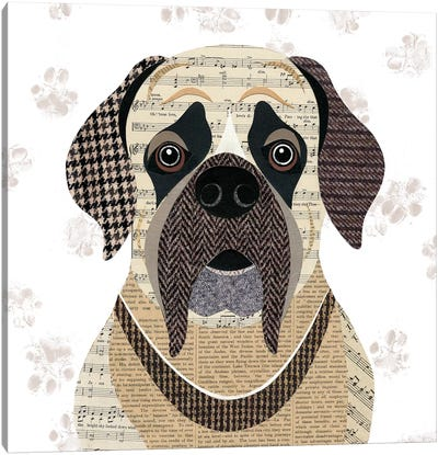 English Mastiff Canvas Art Print