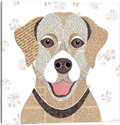 Golden Labrador Canvas Art Print