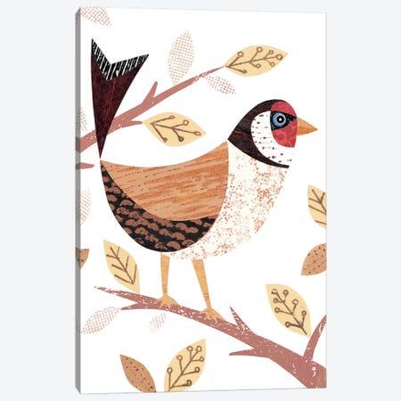 Goldfinch Canvas Print #SIH85} by Simon Hart Canvas Artwork