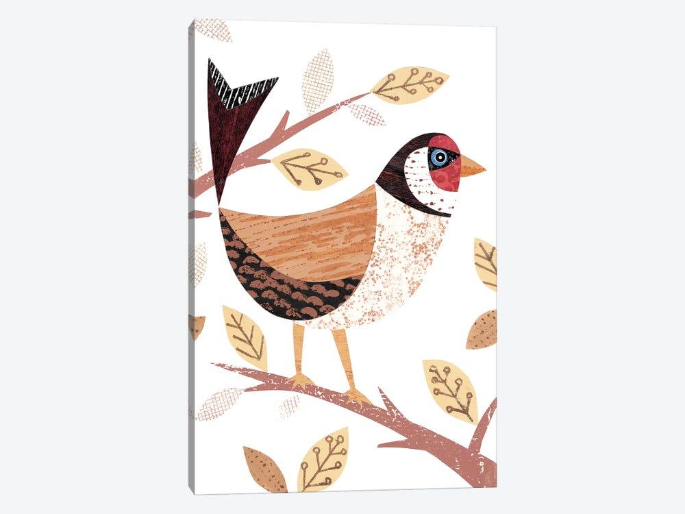 Goldfinch by Simon Hart 1-piece Canvas Art Print