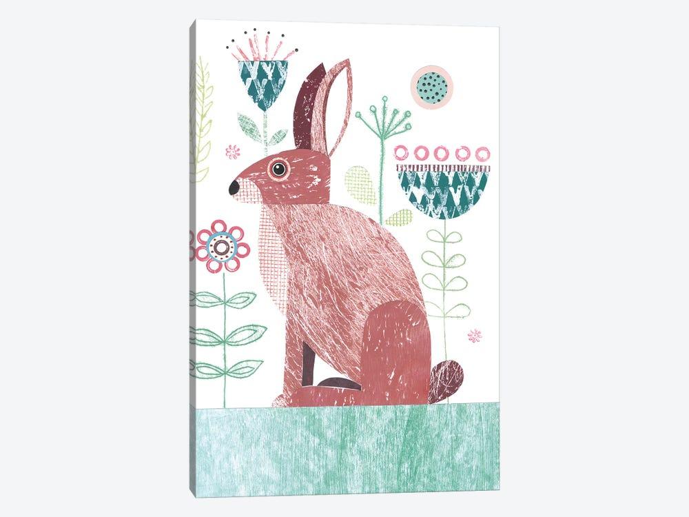 Hare by Simon Hart 1-piece Canvas Art Print
