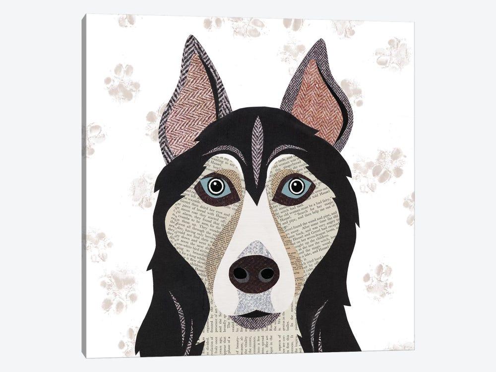 Huskie by Simon Hart 1-piece Canvas Print