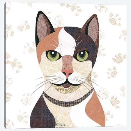 Japanese Bobtail Canvas Print #SIH95} by Simon Hart Canvas Print