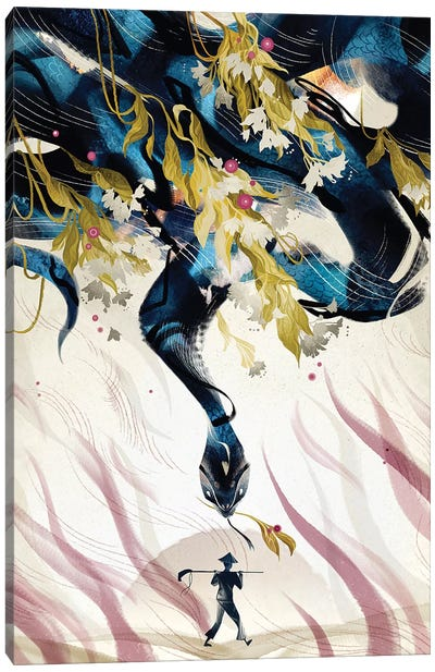 Giant Clam Canvas Art Print
