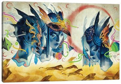 Legend Of Another Mainland Canvas Art Print
