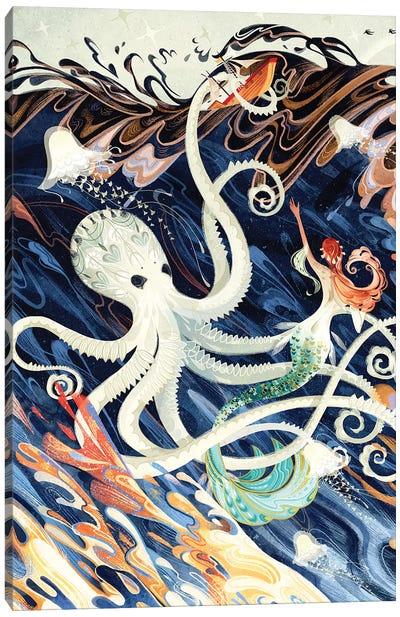 Little Mermaid Canvas Art Print