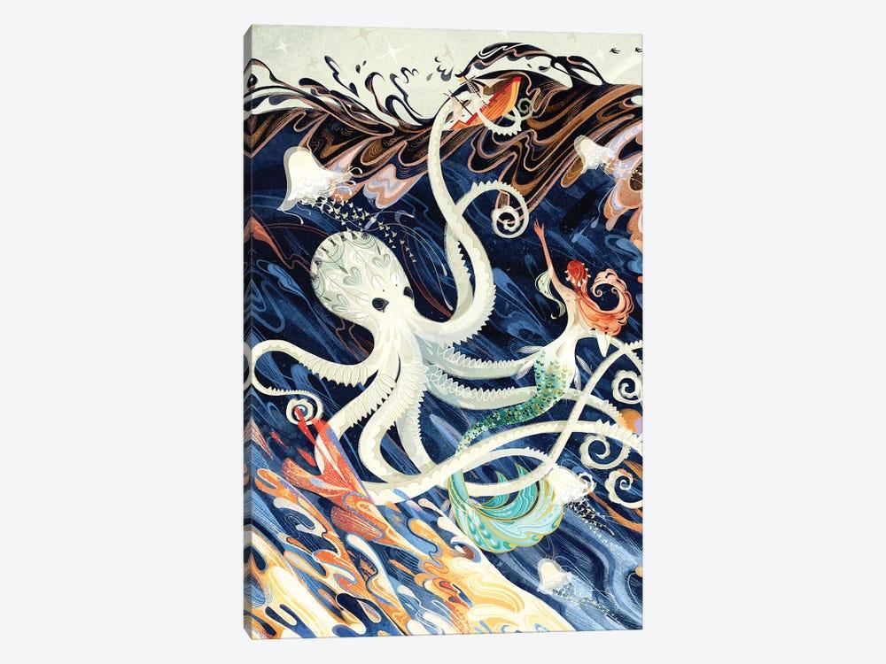 Little Mermaid by Sija Hong 1-piece Canvas Art