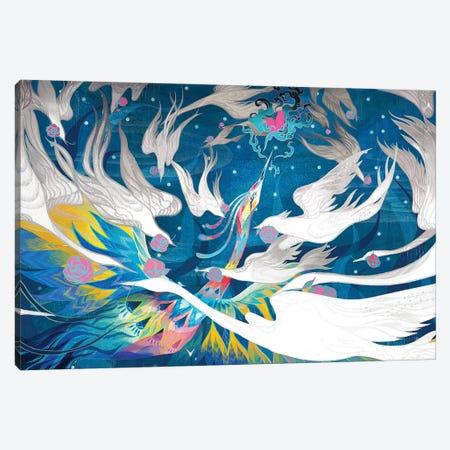 Nirvana Canvas Print #SIJ15} by Sija Hong Canvas Art Print