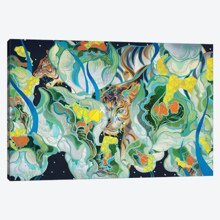 One Eye Canvas Print #SIJ17} by Sija Hong Art Print