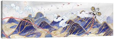 Paper Hawk Canvas Art Print