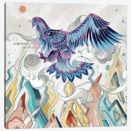 Beyond The Emperor Canvas Print #SIJ1} by Sija Hong Canvas Art Print