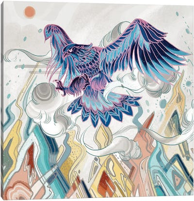 Beyond The Emperor Canvas Art Print