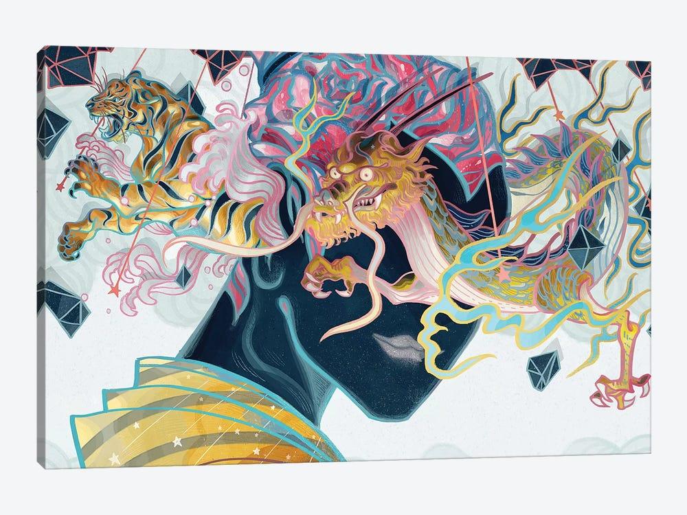 Porcelain Pillows by Sija Hong 1-piece Canvas Print