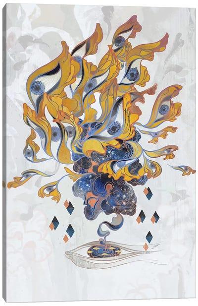 Porcelain Pillows III Canvas Art Print