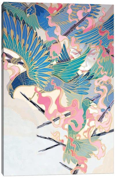 Secret Weapon Canvas Art Print