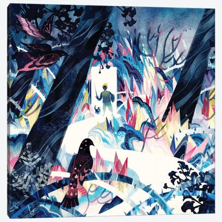The Grotesque World In A Dreamland Canvas Print #SIJ29} by Sija Hong Canvas Art Print