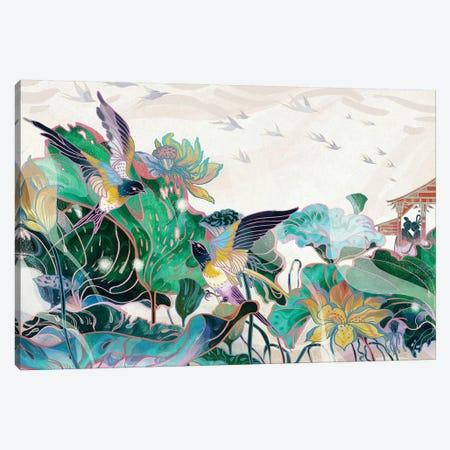 Cowherd And Weaver Canvas Print #SIJ2} by Sija Hong Art Print