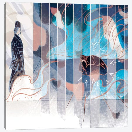 Two Spaces Canvas Print #SIJ34} by Sija Hong Art Print