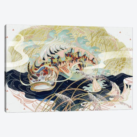 Unicorn Canvas Print #SIJ35} by Sija Hong Canvas Print