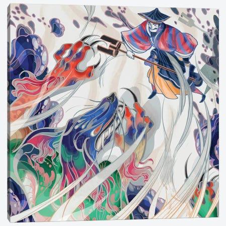 Water Beast Canvas Print #SIJ36} by Sija Hong Canvas Art Print