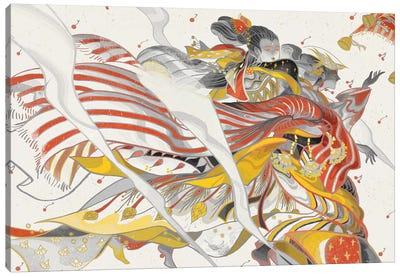 Wind Ladies Canvas Art Print