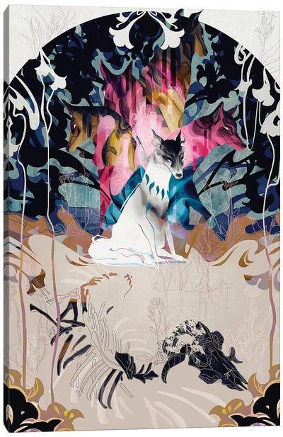 Working Hand In One Glove II Canvas Art Print