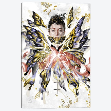 Devil Canvas Print #SIJ3} by Sija Hong Canvas Art Print