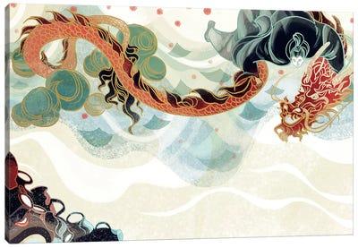 Dragon's Treasure Canvas Art Print