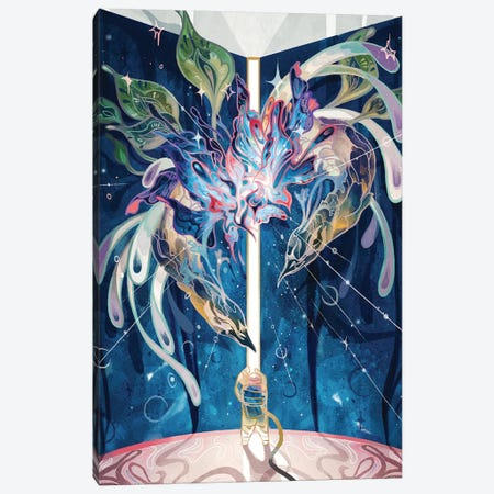 Dream Wormhole Canvas Print #SIJ7} by Sija Hong Canvas Artwork