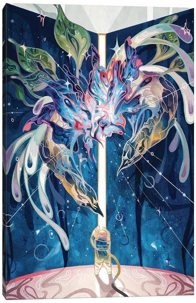 Dream Wormhole Canvas Art Print