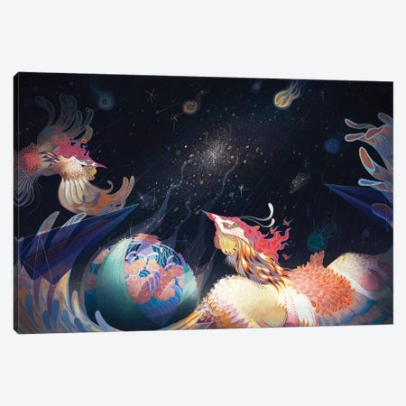 Extragalactic Canvas Print #SIJ8} by Sija Hong Canvas Art Print