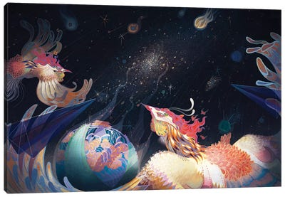 Extragalactic Canvas Art Print