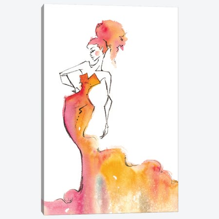 Clear The Way Canvas Print #SIL13} by Sillier Than Sally Canvas Wall Art