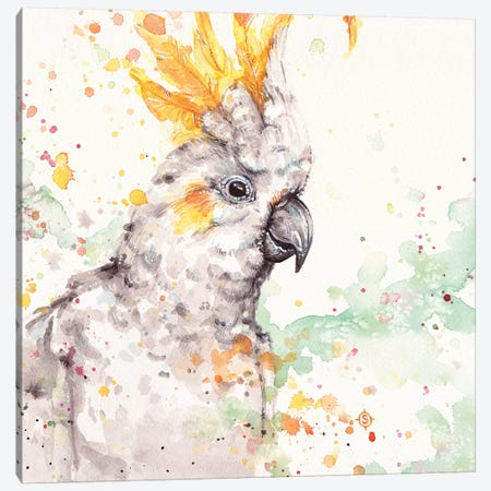 Clowning Around Canvas Print #SIL14} by Sillier Than Sally Art Print