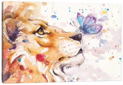 Finn's Lion Canvas Art Print