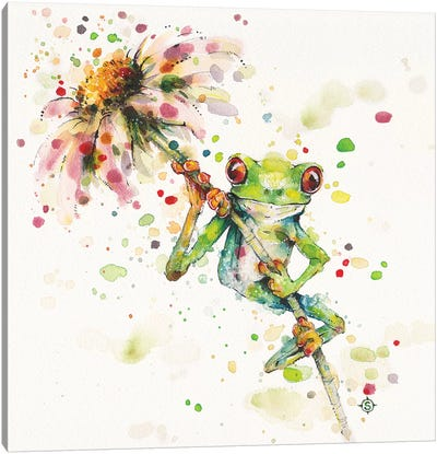 Frogs Canvas Wall Art Icanvas
