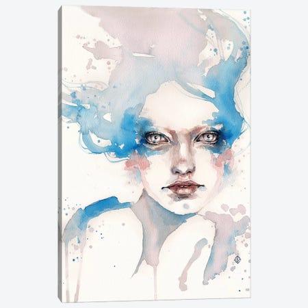 In The Shallows Canvas Print #SIL28} by Sillier Than Sally Canvas Art Print