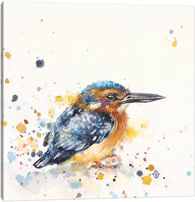 Kingfisher Lane Canvas Art Print