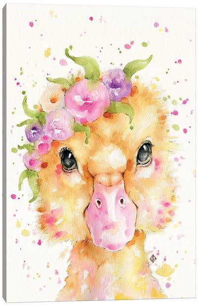 Little Duck Canvas Art Print