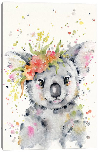 Little Koala Canvas Art Print