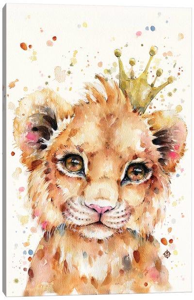 Little Lion Canvas Art Print