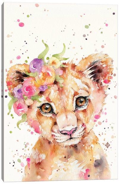 Little Lioness Canvas Art Print