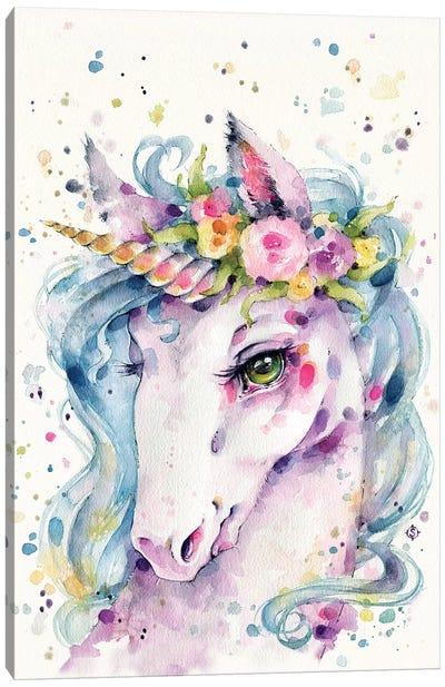 Little Unicorn Canvas Art Print