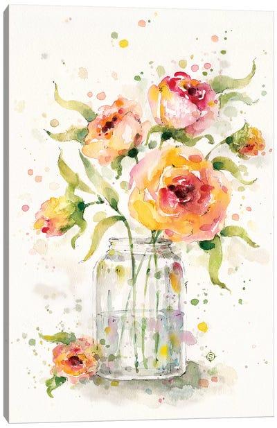 A Jar Of Joy Canvas Art Print
