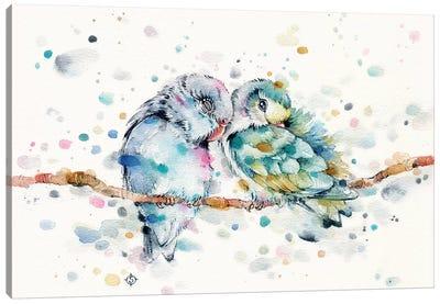 Mr & Mrs Snugglepots Canvas Art Print