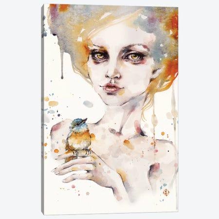 On A Whim Canvas Print #SIL53} by Sillier Than Sally Canvas Wall Art