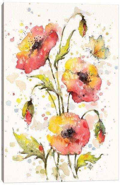 Poppies Galore Canvas Art Print